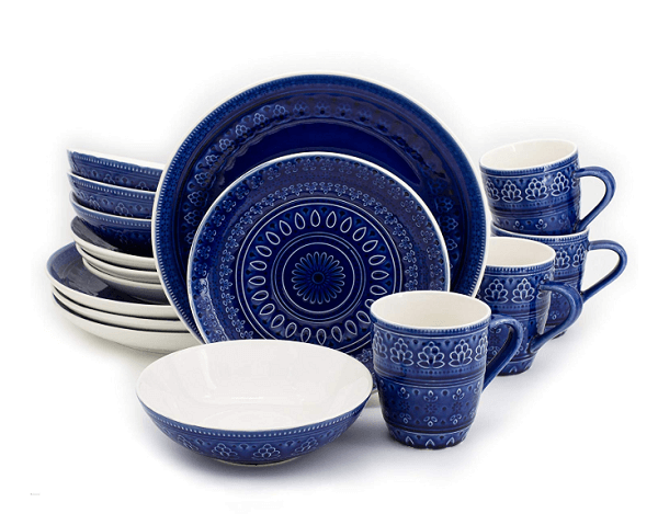 Eura Ceramica Fez Collection Dinnerware Set