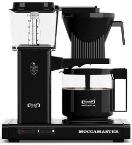 Technivorm Moccamaster 59462 KBG Coffee Brewer, 40 oz, Black by Technivorm Moccamaster