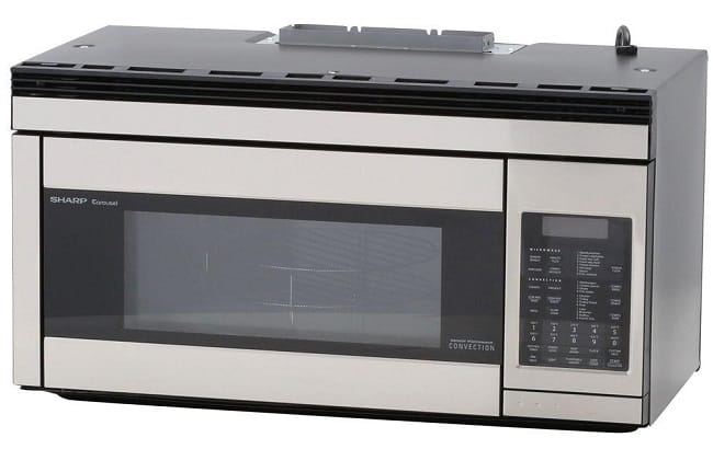 Sharp R1874T Over-the-Range Convection Microwave Oven