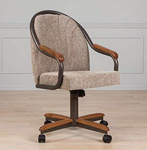 AW Furniture Casual Dining Chair with Casters