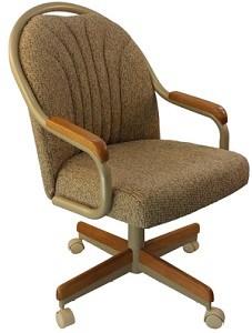 Caster Chair Company Britney Swivel Tilt Caster Arm Chair