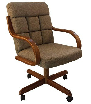 Caster Chair Company Camile Swivel Tilt Chair with Caster
