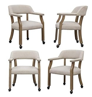 Comfort Pointe Millstone Dining Chairs with Casters