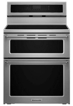 KitchenAid KFID500ESS Double Oven with Induction Range