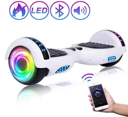 SISIGAD Hoverboard Self Balancing Scooter