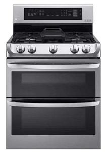 LG LDG4315ST Freestanding Double Oven Gas Range