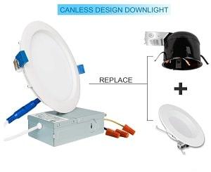 SAATLY 13W 6 inch LED Recessed Lighting