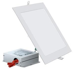 SAYHON Ultra-Thin Square Recessed Lighting