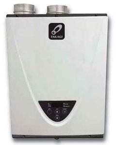 Takagi High Efficiency Tankless Water Heater