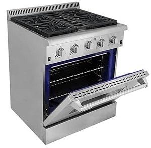 Thor Kitchen HRG3080U Freestanding Professional Style Gas Range
