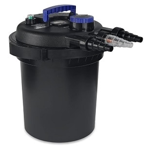 XtremepowerUS Pond Pump Filter with UV Sterilizer