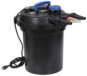 ZENY Pressure Bio Filter for Pond 13W UV Sterilizer Purifier