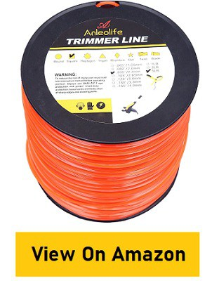 Anleolife String Trimmer Line