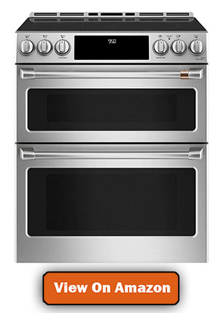 Cafe Induction Range with Double Oven