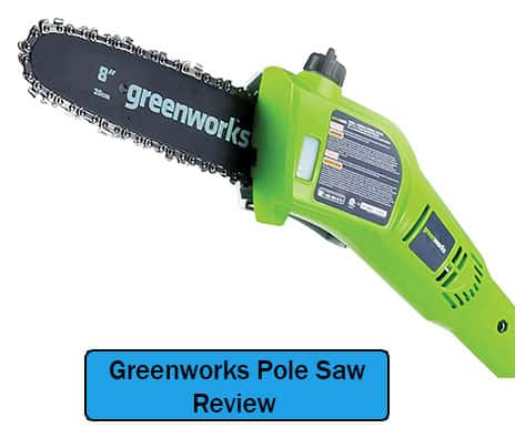 Greenworks 20672 Cordless Pole Saw Review