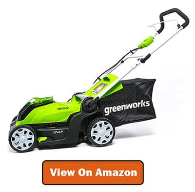 Greenworks Lawn Mower for Uneven Surface