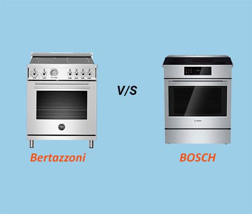Bertazzoni Vs Bosch Induction Ranges