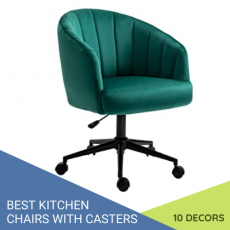 best kitchen chairs with casters 500x500